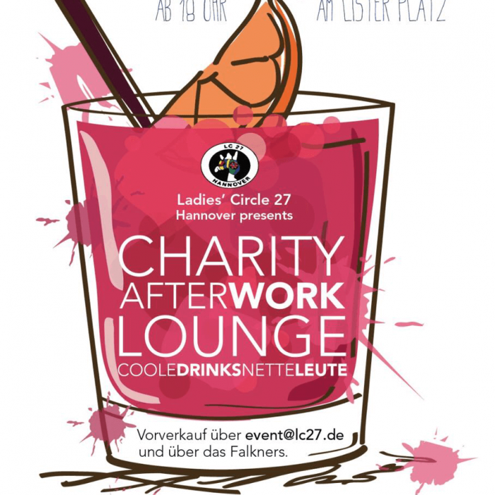 Charity After Work Lounge im Falkners