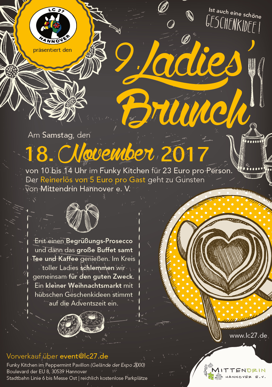 Ladies Brunch, Ladies Circle, Hannover