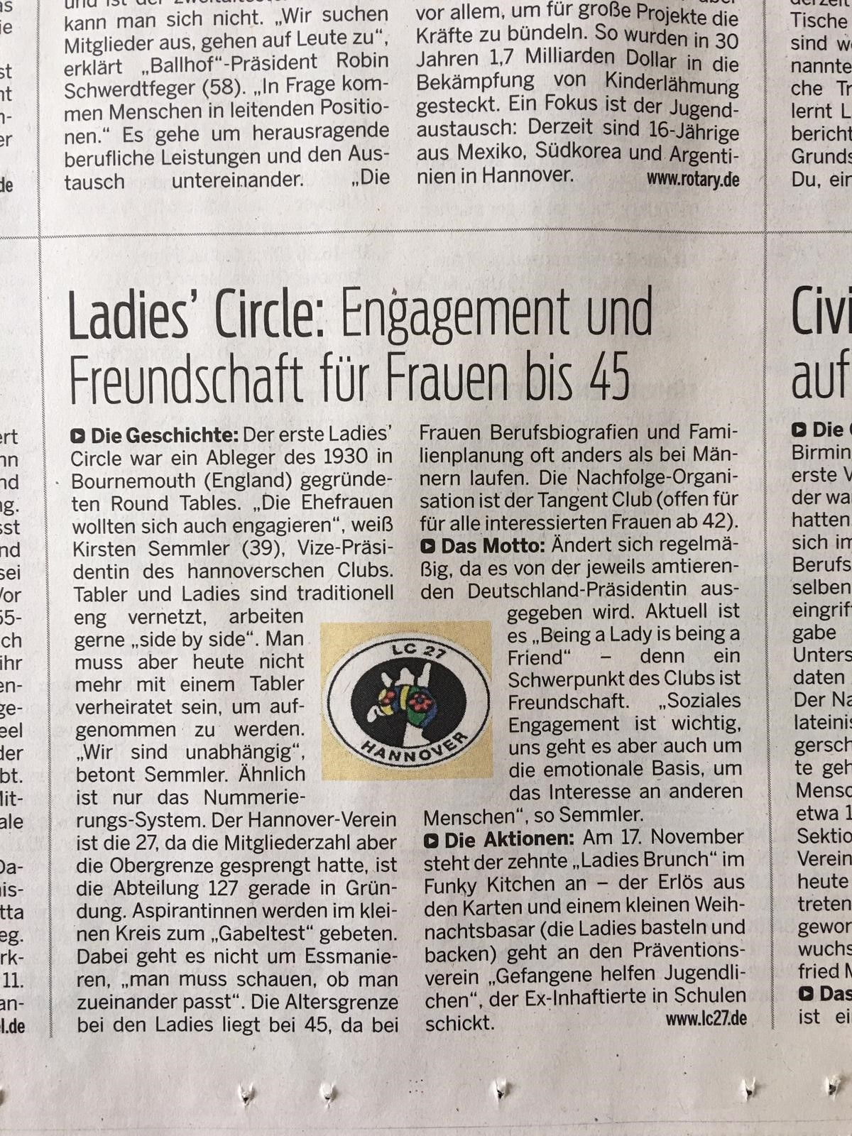 Artikel Ladies Circle