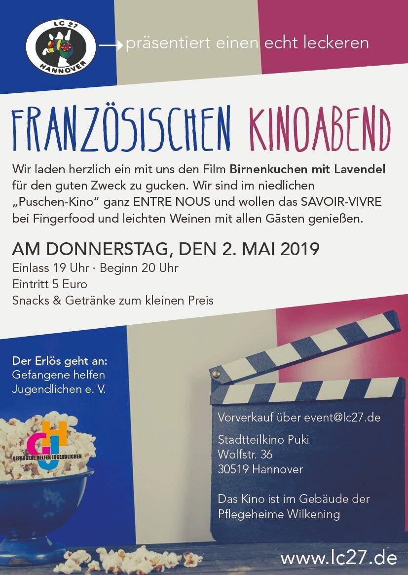 LC 27 Französischer Kinoabend