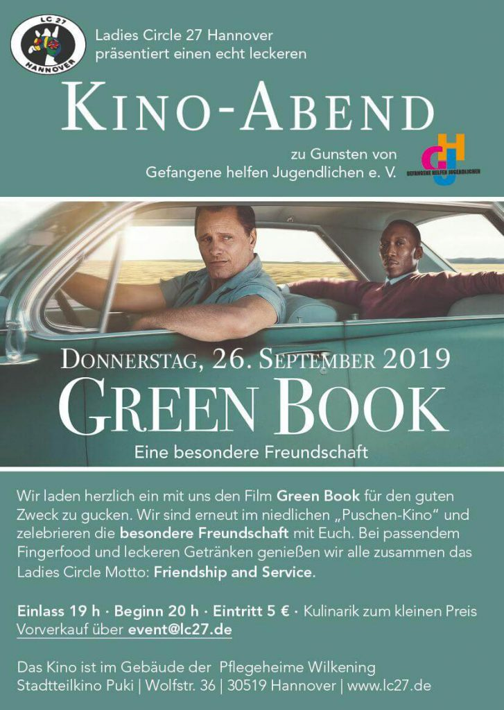 green book kino abend lc 27